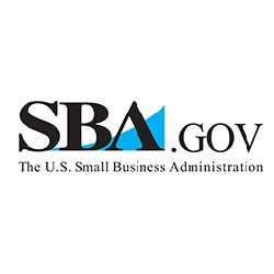 The U.S. Small Business Administration logo